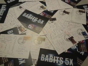 Mentor képeslap Babits 5X