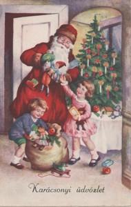 Képeslap Karácsonyra