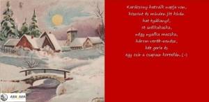 Karácsonyi vers #6